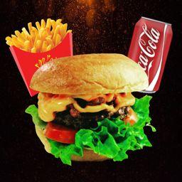 Combo Hambúrguer Gourmet