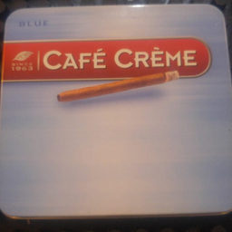 Cigarrilha Café Creme Blue lata com 10UNID