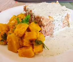 Congelado - quibe de carne e quinoa