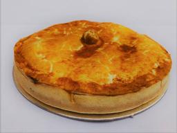 Torta de Palmito com Catupiry - Média