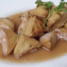 虾仁让豆腐 Tofu Frito Recheado