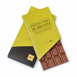 Tablete de Chocolate Pistacchio - 100g