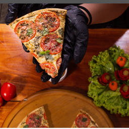 Pizza 2 Sabores - Média