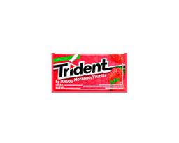 Chiclete Trident Morango / Frutilla