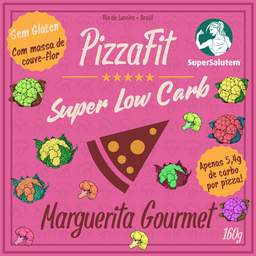 Pizza Fit Super Low Carb Marguerita Gourmet