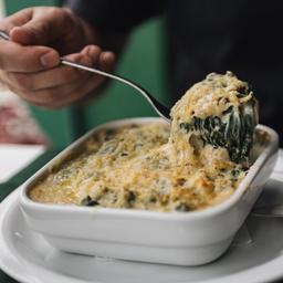 417 Lasagna con Spinaci e Formaggio