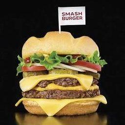 Smash - 80g X-Salada Bacon