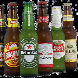 Cerveja long neck, estrela galícia