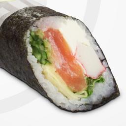 Burrito Sushi de Salmão