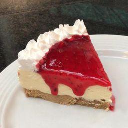 Cheesecake de Morango Seven Wonders Café