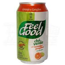 Chá Feel Good Chá Verde Laranja com Gengibre - 330ml