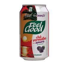 Chá Feel Good Vermelho Amora - 330ml