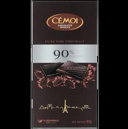 Chocolate Cemoi 90% Cacau 80 g