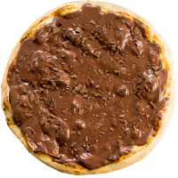 Pizza de Chocolate Preto