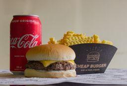 Combo Burger com Fritas e Refrigerante - 350ml