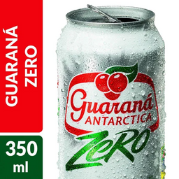 Guarana Antártica Zero 350ml
