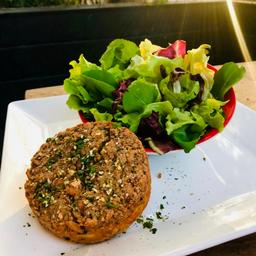 Salada Mix - Kibe Assado