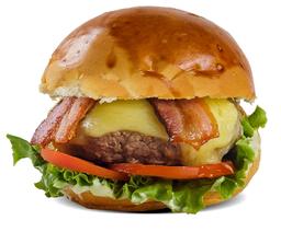 Dino Burger Bacon -