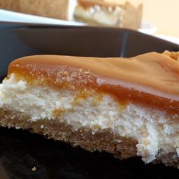 Cheesecake Caramel - Fatia