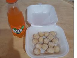 Kit guaraná + bolinho de calabresa