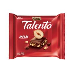 Chocolate Talento Avelãs 90g