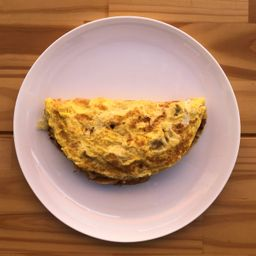 Omelete de Alcatra