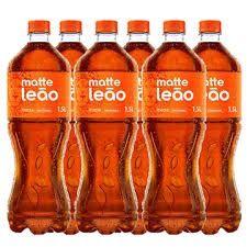 Matte leão garrafa 1,5lt