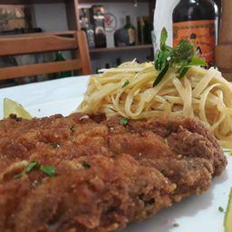 Cotoletta Spaghetti Al Burro