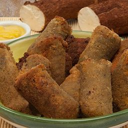 Croquete de Carne Seca com Mandioca 10 uni