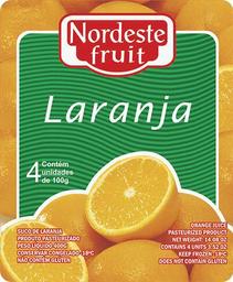 Polpa de Laranja Nordeste Fruit - 400g