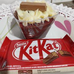 Sobremesa de Kit Kat ao Leite