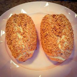 Pão Francese Integrale de Linhaça