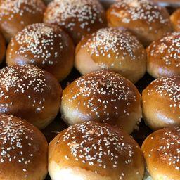 Pacote de pão de hamburguer