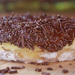 Mini Donuts de Brigadeiro