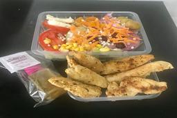 Salada Pasuri + Frango Grelhado