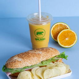 Sanduíche + Batata Chips + Suco Laranja G