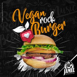 Vegan Rock Burger