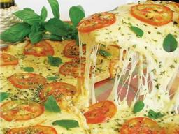 Pizza Gigante 8 Fatias Marguerita Especial.mussarela,manjericão,