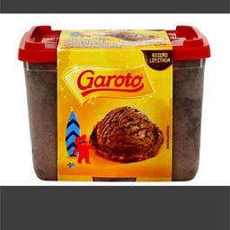 SORVETE DE CHOC. GAROTO DE  1,5 LT