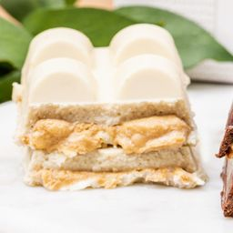Tablete Paçoca Chocolate Branco