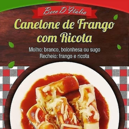 Canelone de Frango com Ricota