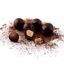 Avelã com chocolate 70%
