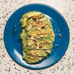 Tostada de Avocado Vegano e sem Lactose