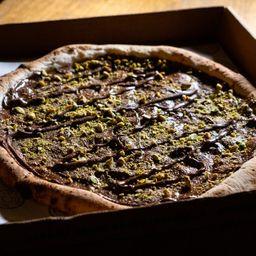 Pizza de Nutella e Pistache - 30cm