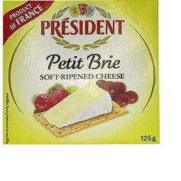 Queijo Petit Brie President - 125g