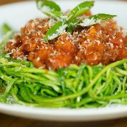 Espaguete Cetogenico