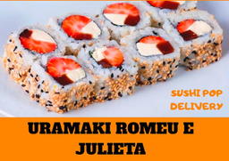 Uramaki Romeu e Julieta - 8 Unidades