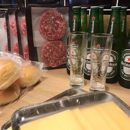 Kit 8 burguer + Heineken - BBQ Company