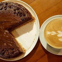Cappuccino Pie - Fatia