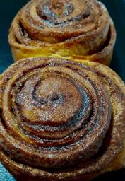 Pão Cinnamon Roll